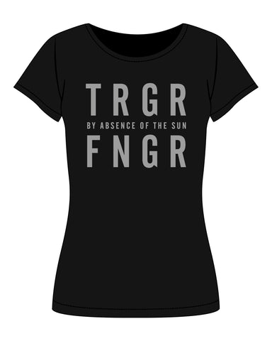 T-Shirt Ladies TRGRFNGR By Absence of the sun print