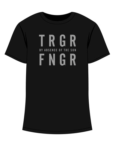 T-Shirt Men TRGRFNGR By Absence of the Sun print