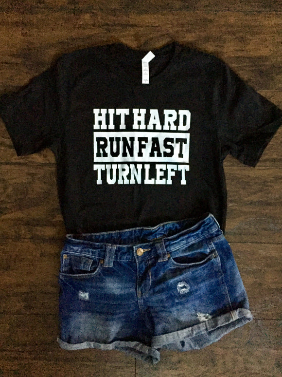 Hit hard, Run fast, Turn left - Baseball/Softball
