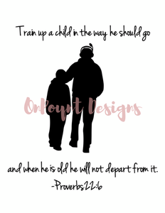 Train Up A Child, Father/Son, Hard Copy