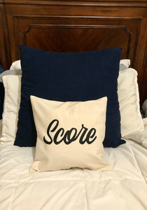 Score Pillow Cover