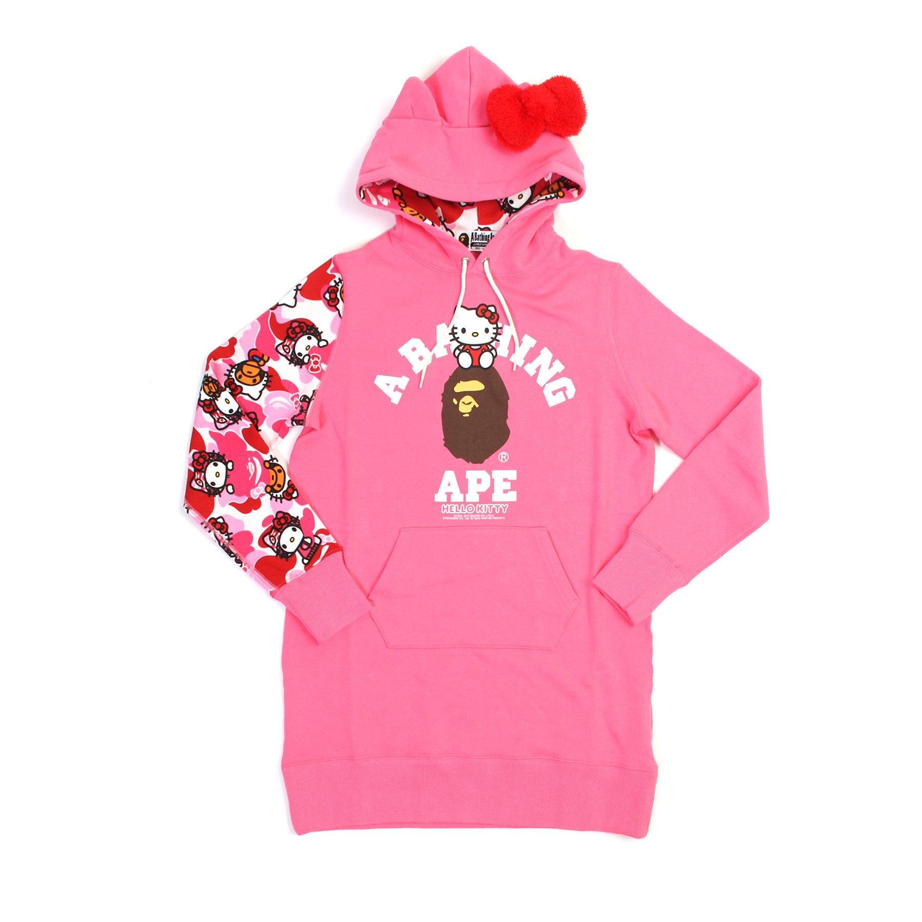 ce0da84e2 Dev Concepts | BAPE x Hello Kitty Hoodie (Pink)