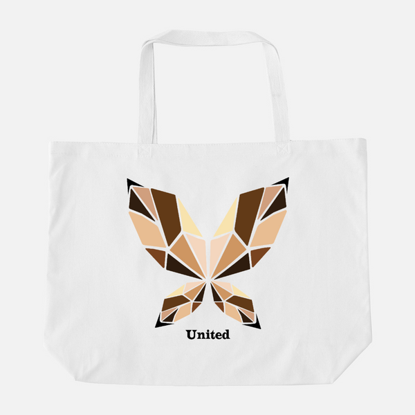 UNITED BUTTERFLY | Oversized Tote Bag