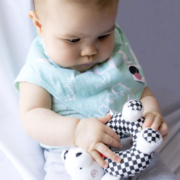 BUBS + SCOUT | Sensory Baby Rattles