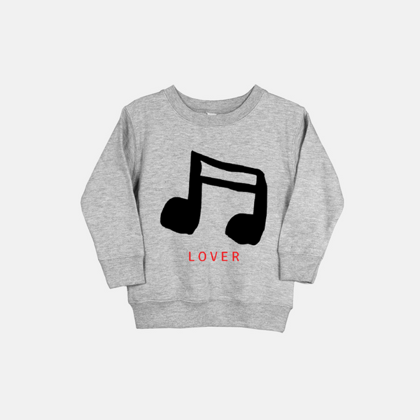 MUSIC LOVER | Toddler Sweatshirt