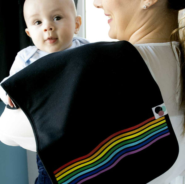 RAINBOW | Burp Cloths