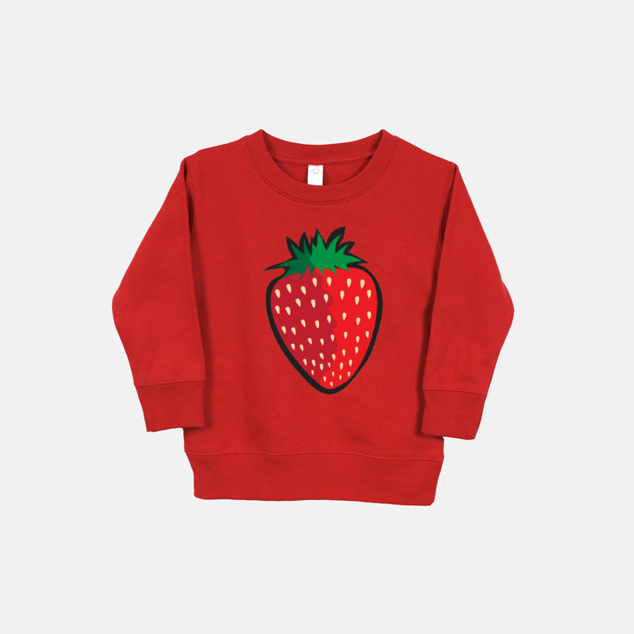 STRAWBERRY | Toddler Sweatshirt