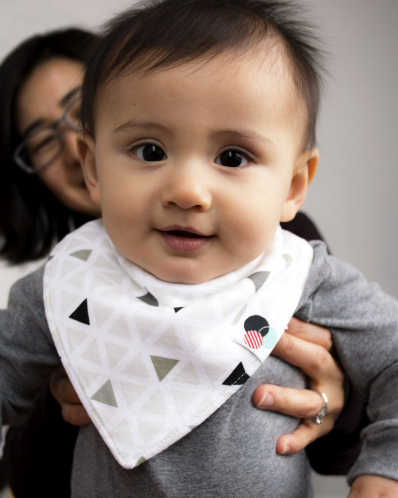PREMIUM PLUS | Baby Bandana Bibs (single)