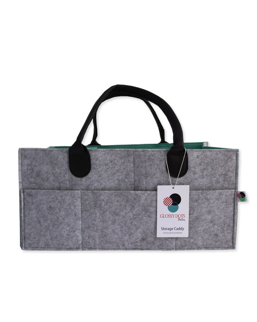 LIGHT GREY | Nursery Storage Organizer for Gifting