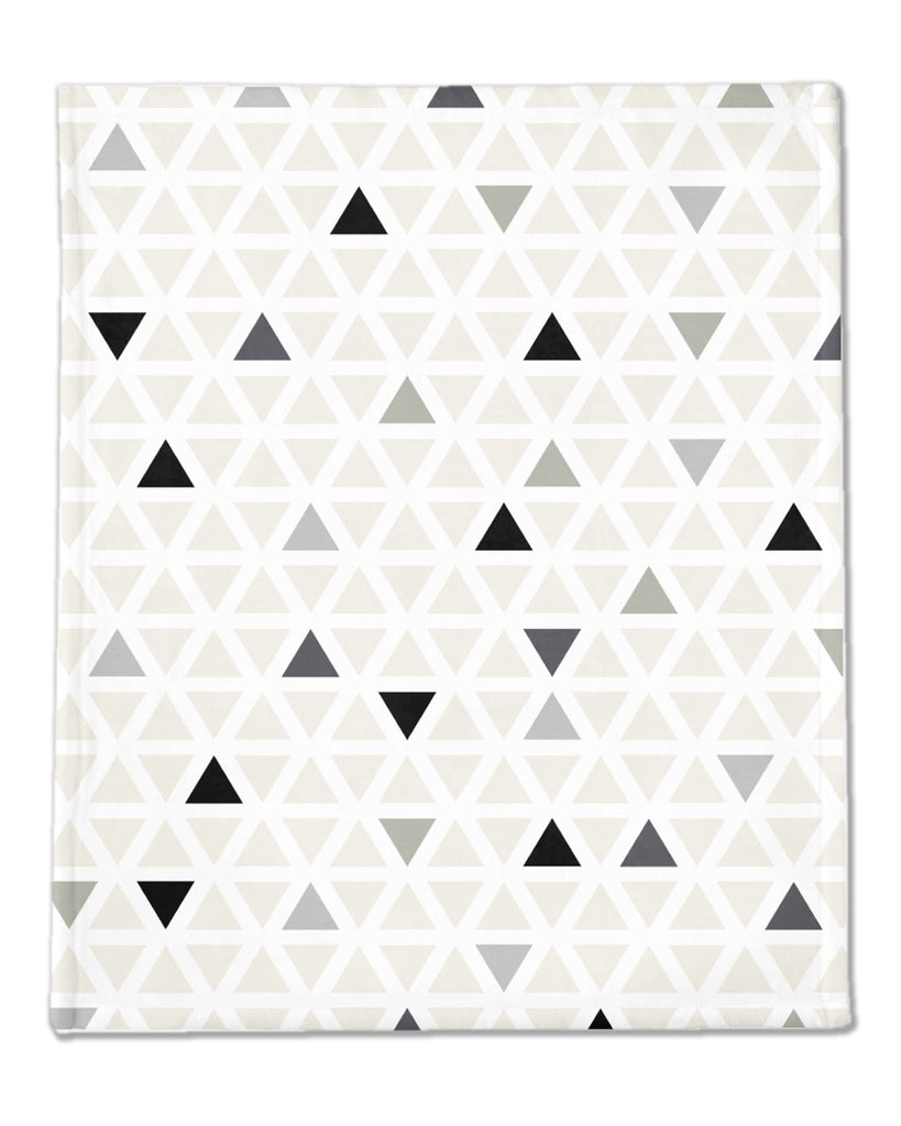 TRIANGLES | Minky Blanket