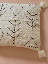 Load image into Gallery viewer, Fern tassel pillow