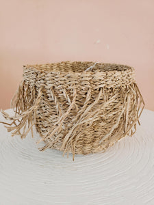 set of 3 fringe baskets