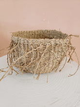 Load image into Gallery viewer, set of 3 fringe baskets