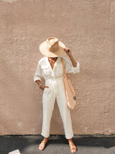 Load image into Gallery viewer, White sands jumpsuit