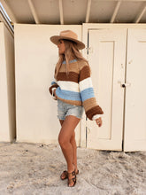 Load image into Gallery viewer, sunrise striped sweater