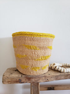 colorful storage baskets