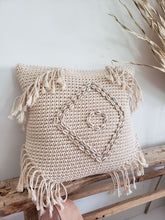 Load image into Gallery viewer, Luana macrame pillow cover