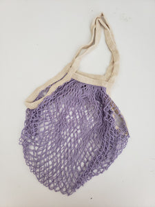 lilac french market bag