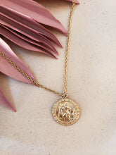 Load image into Gallery viewer, Saint Christopher Medallion Necklace