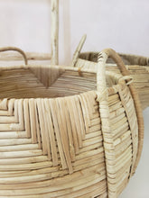 Load image into Gallery viewer, large cane basket