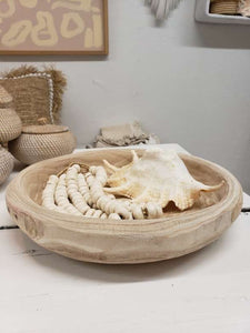 paulownia wood bowl/tray