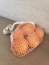 Load image into Gallery viewer, peachy pink french market bag