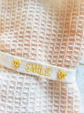 Load image into Gallery viewer, yellow smile layering bracelet