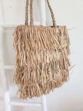 Load image into Gallery viewer, fringe Bahama tote