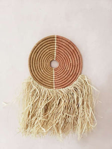 "12"" fringe wall hanging"