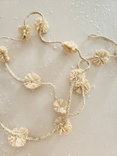 Load image into Gallery viewer, raffia pom pom garland