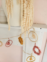 Load image into Gallery viewer, rainbow raffia tassel garland