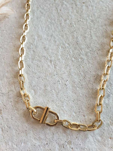 Cuff necklace