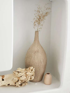 Textured bottle vase