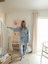 Load image into Gallery viewer, baby blue homebody sweat set