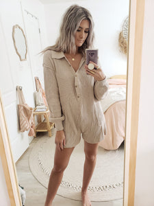 Tilly knit romper