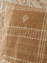 Load image into Gallery viewer, Beige indian wool pillow cover