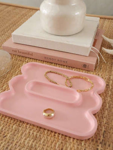 Pink catchall tray