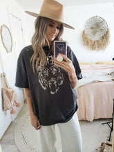 Load image into Gallery viewer, Grey fierce oversized tee