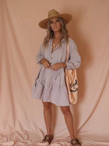 The Lullaby Club Avalon smock dress