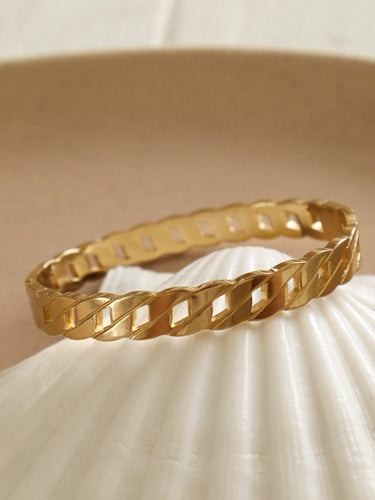 Gigi chain bangle bracelet