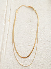 Load image into Gallery viewer, Cassia Double Chain necklace