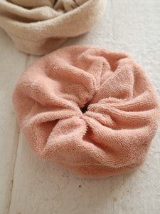 Terry cloth scrunchie