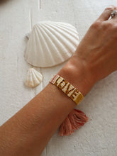 Load image into Gallery viewer, Yellow and gold love bracelet