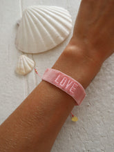 Load image into Gallery viewer, Pink love bracelet