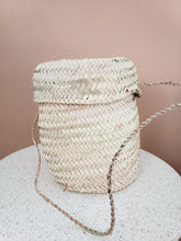 Load image into Gallery viewer, Basket Bucket Bag