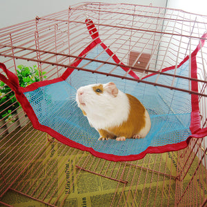 Pet Cat Hammock With Breathable Mesh Summer Big Cat Pet Hamsters Cages Hammock Chair Hammock Under The Funny Stick Squirrel Bed