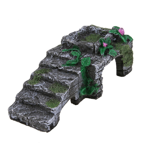 Resin Turtle Reptile Platform Basking Ramp Tank Water Aquatic Climb Ornamen Fish & Aquatic Pet Supplies E5M1