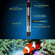 Load image into Gallery viewer, 25W / 50W / 100W / 200W / 300W Pet Product Aquarium Accessories Submersible Heater Heating Rod for Aquarium Glass Fish Tank