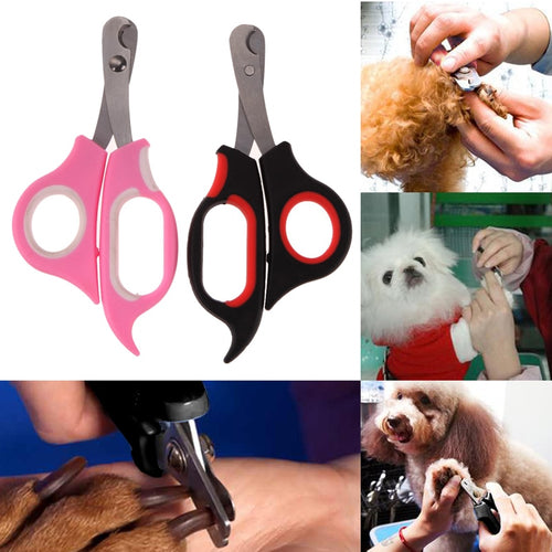 2Pcs/lot Pet Nail Clippers for Animal Dog Cat Rabbit Claw Toe Nail Clipper Cutter Pet Grooming Scissors Nail Clamps