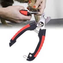 Load image into Gallery viewer, Stainless Steel Pet Dog Nail Clipper Cutter Cats Grooming Scissors Clippers for Dog Animals Paw Trimmer Pet Supplies